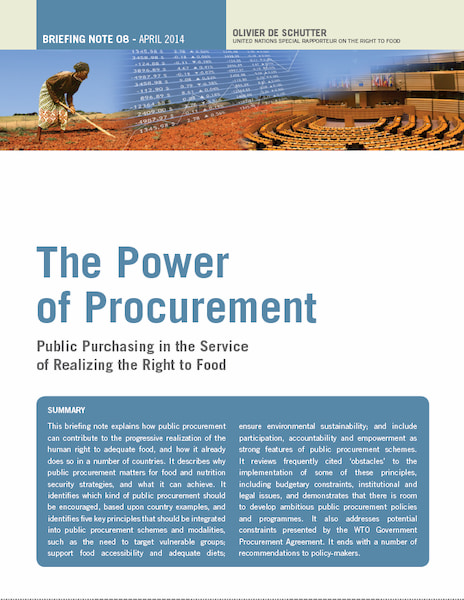 The Power of Procurement