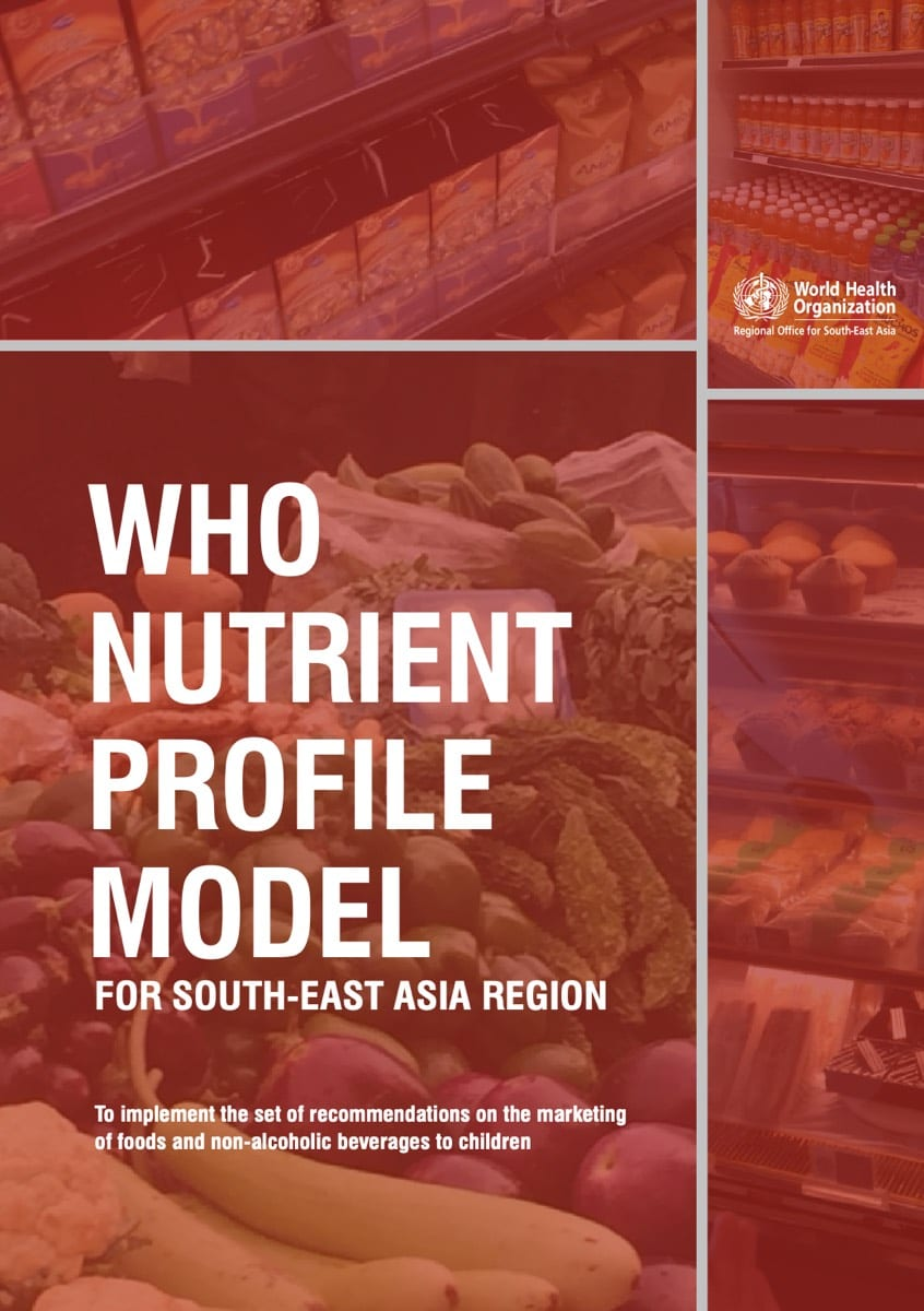 WHO Nutrient Profile Model for South-East Asia Region (2017)