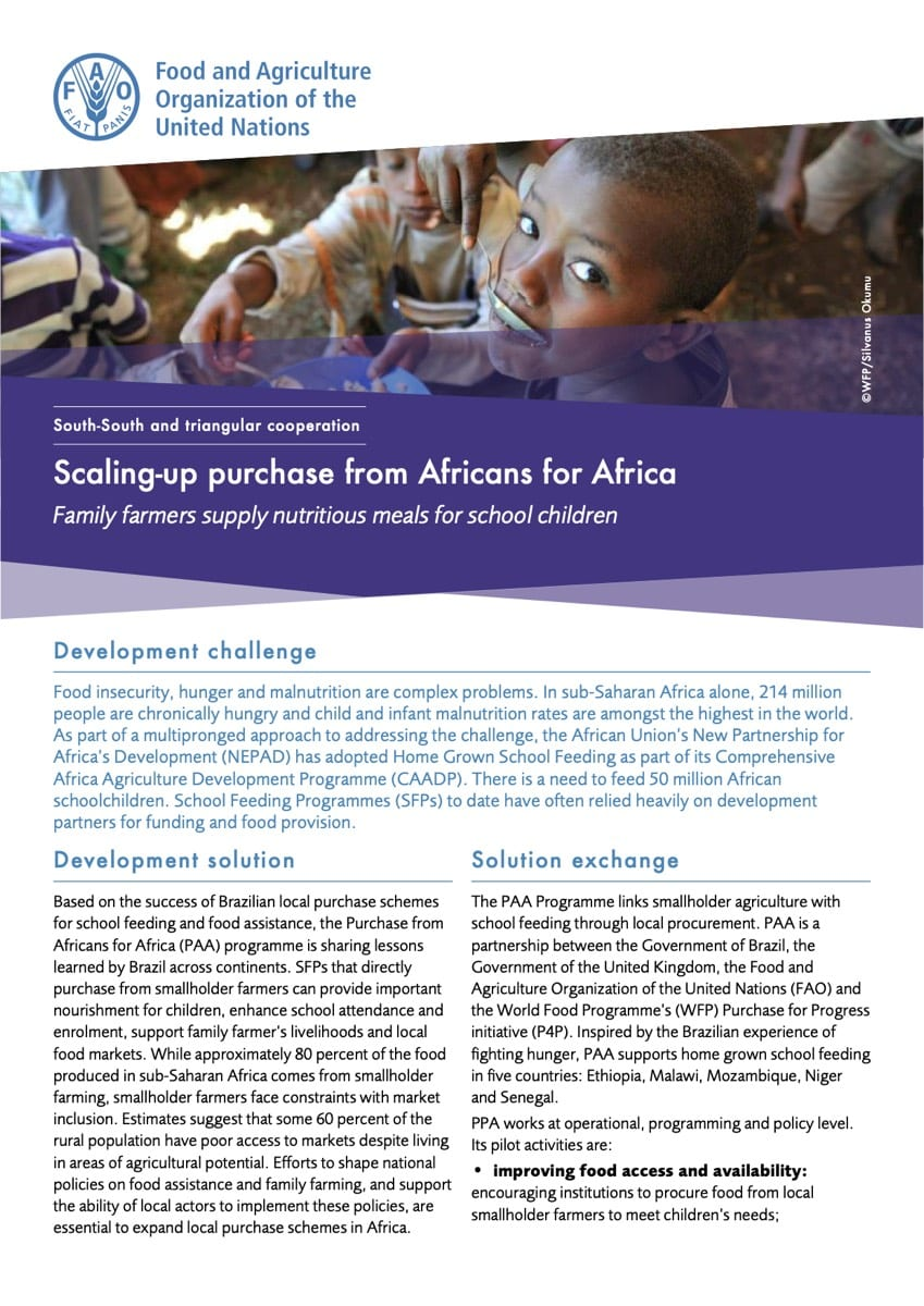 Scaling-up purchase from Africans for Africa (2014)