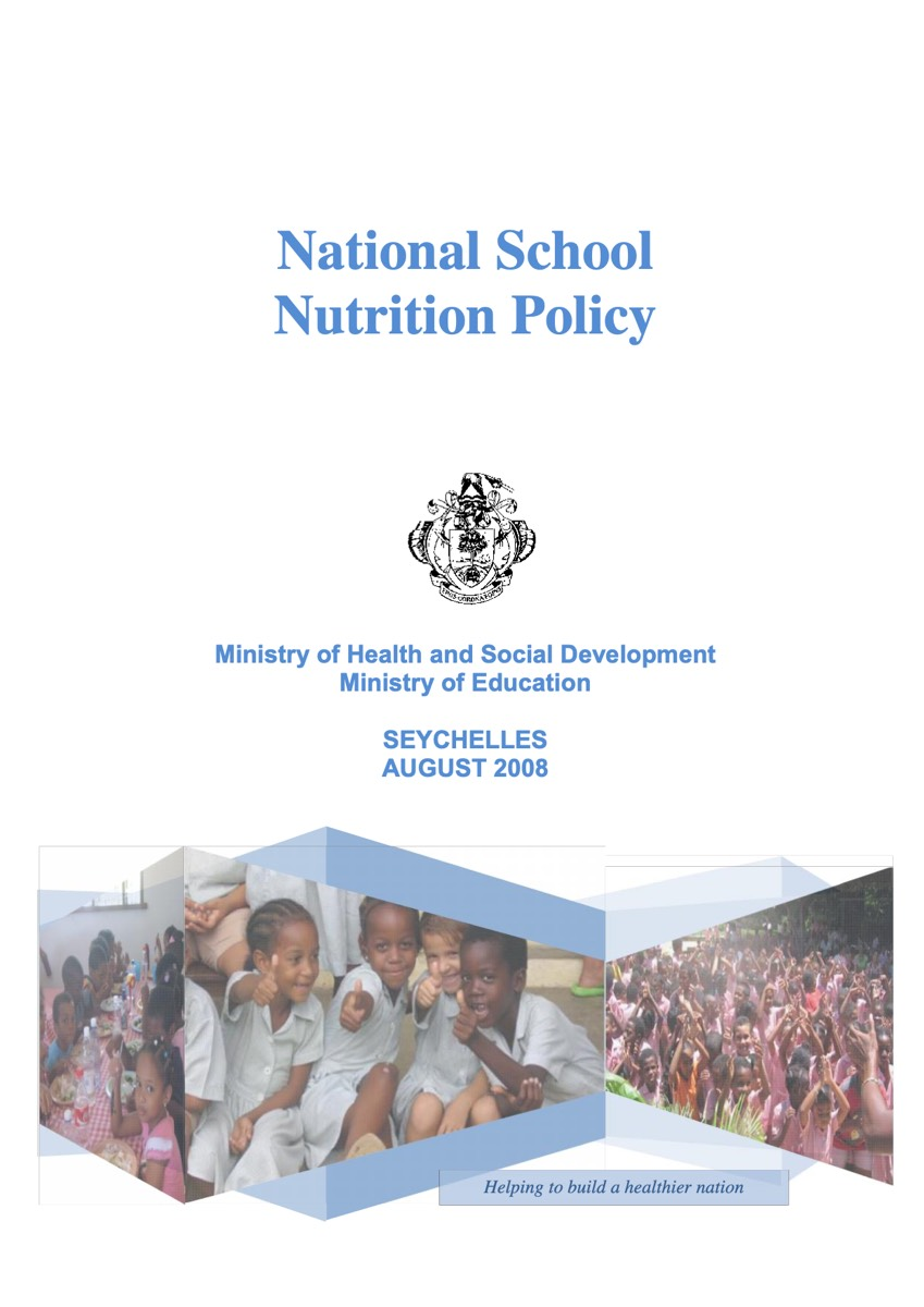 Seychelles National School Nutrition Policy (2008)