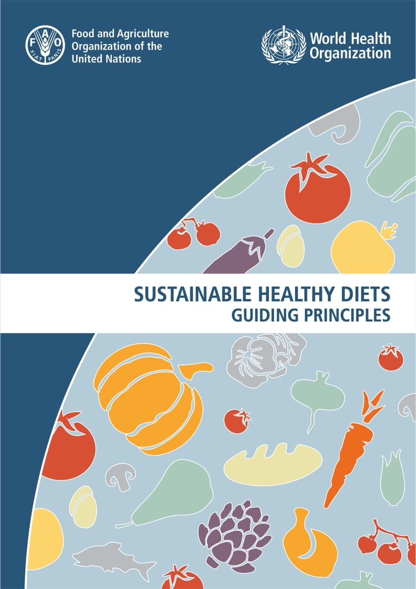 Sustainable Healthy Diets - Guiding Principles (2019)