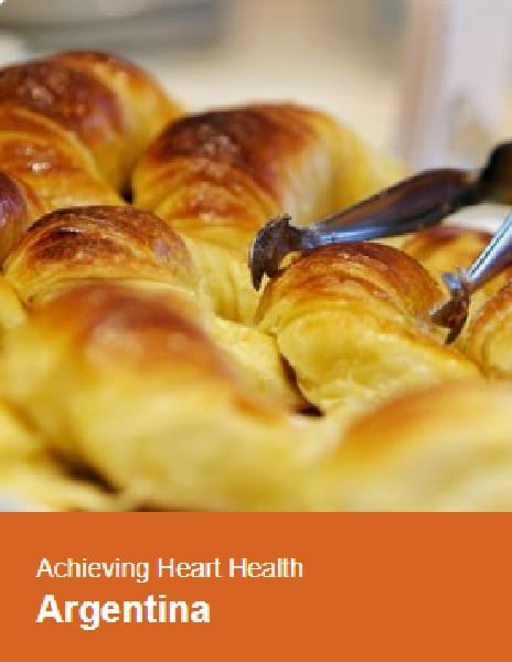 Case study: Argentina regulating trans fats and monitoring heart health