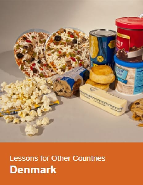 Case study: Denmark, trans fat ban pioneer: lessons for other countries