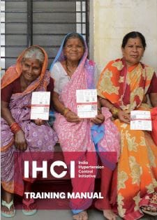 Training tool: India Hypertension Control Initiative Training Manual w/ Simple App