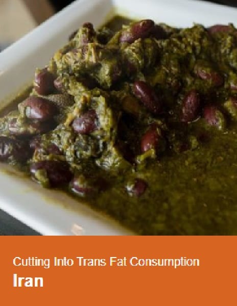 Case study: Cutting into trans fat consumption in Iran
