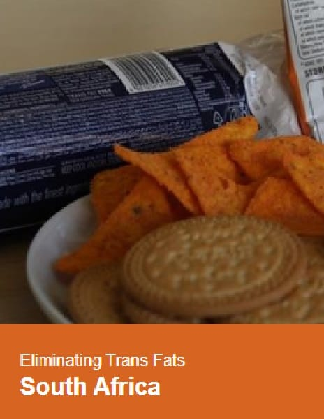 Case study: South Africa Eliminates Trans Fats